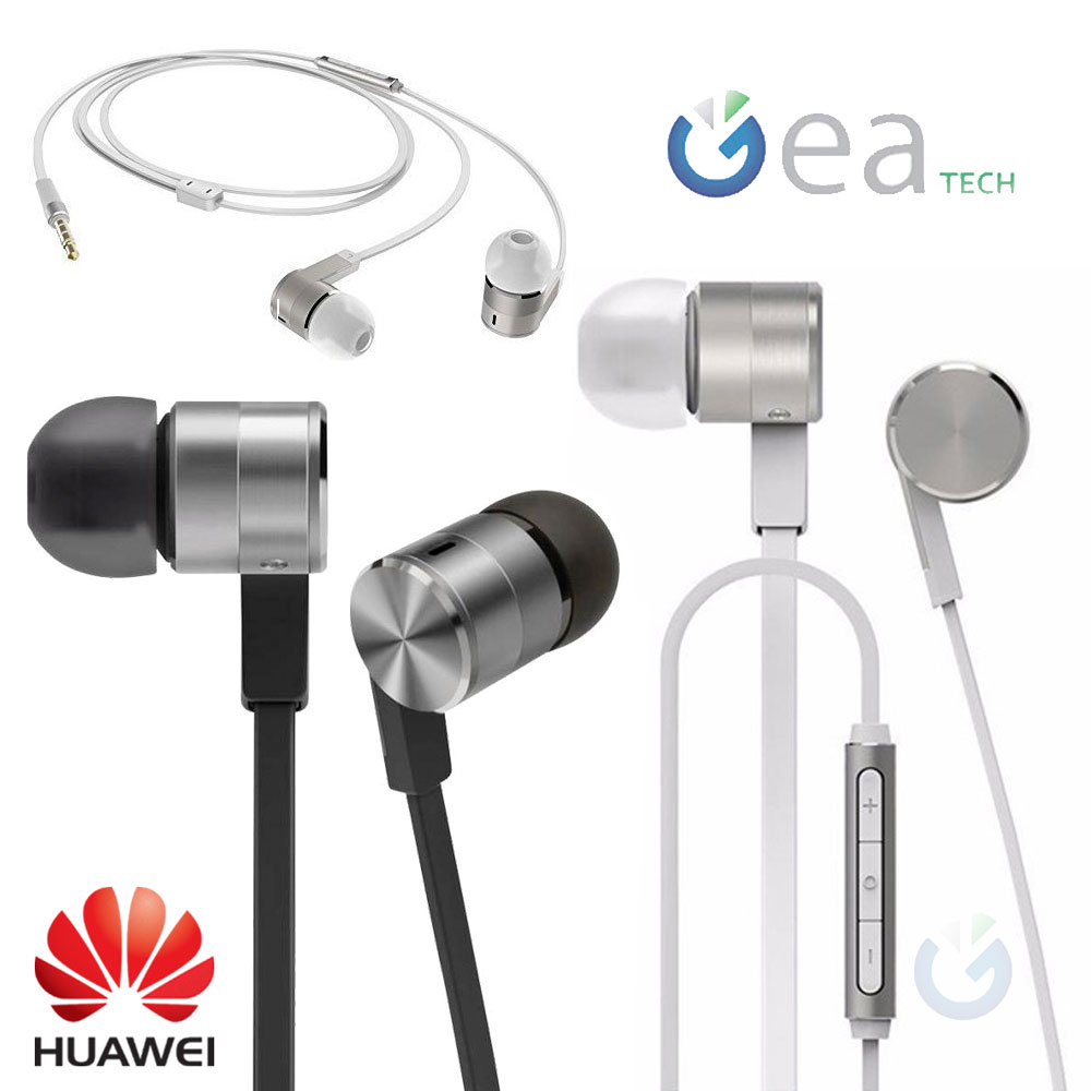 Auricolari Originale Huawei AM13 Cuffie Stereo jack 3.5 + Mic Universali  Grey db52af4ace67