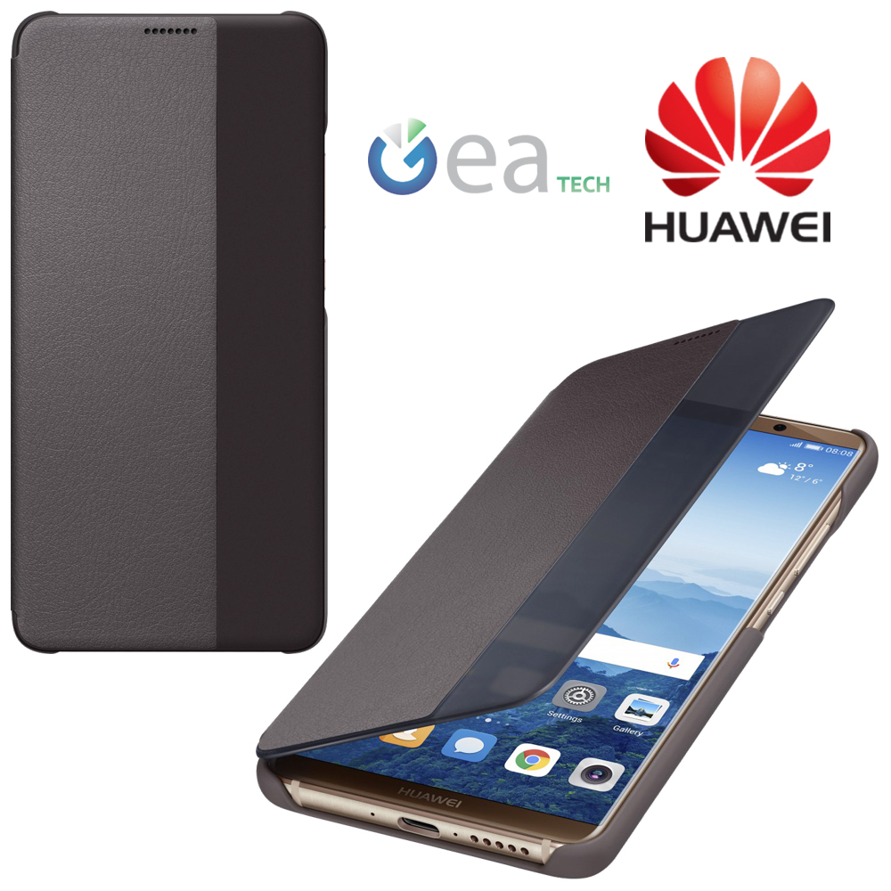 Tui original huawei pour mate 10 pro smart view coque for Housse huawei mate 10 pro