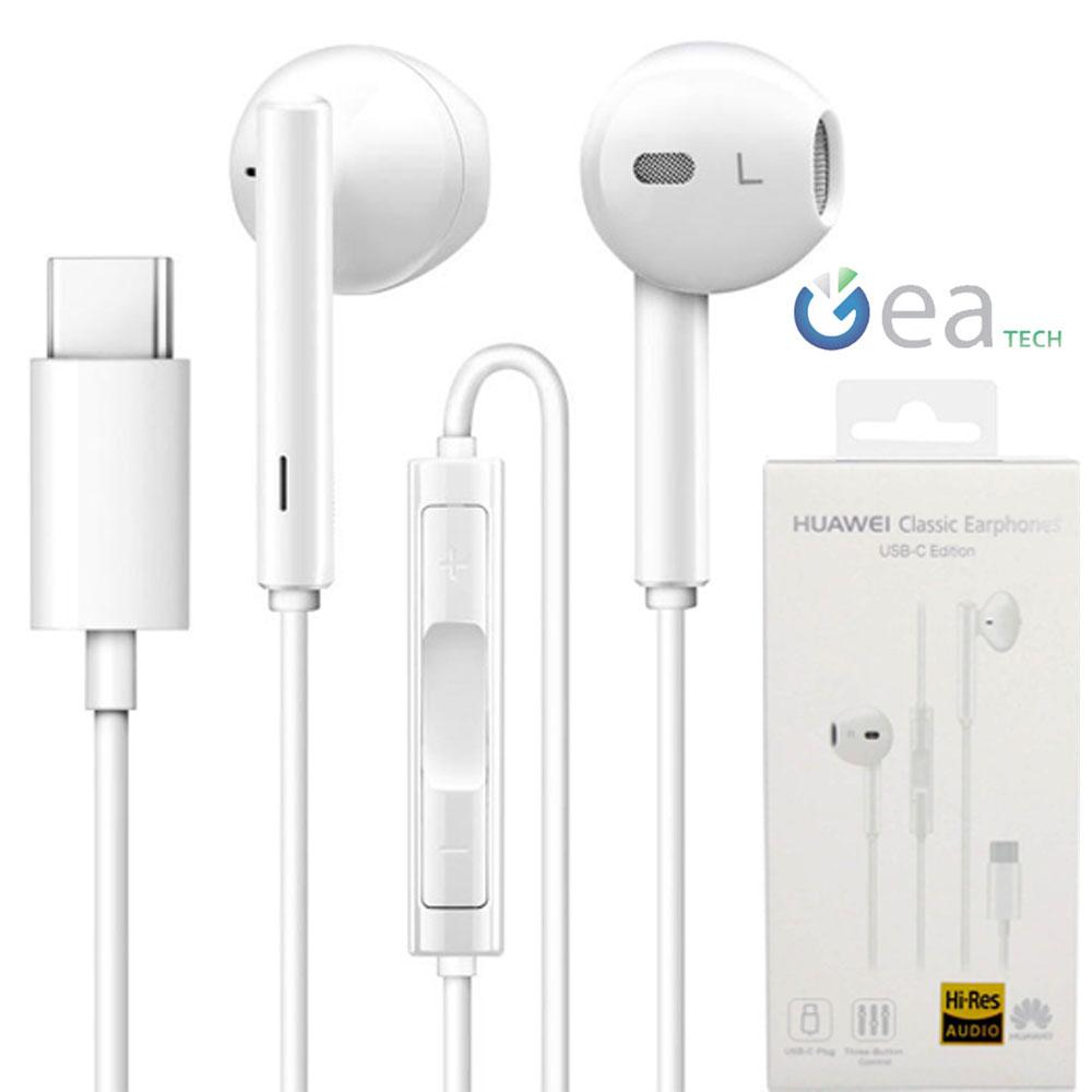 Auricolare Originale Huawei Cm33 Cuffie Stereo In Ear Type C Mic Per P20 Pro Ebay
