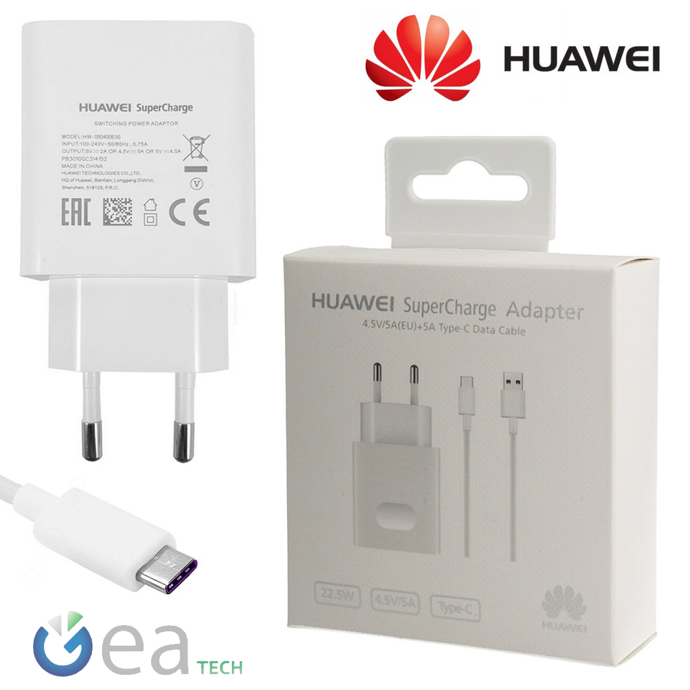 Huawei CaricaBatterie SUPERCHARGE Originale AP81 Fast 5A Per P10 PLUS in BLISTER