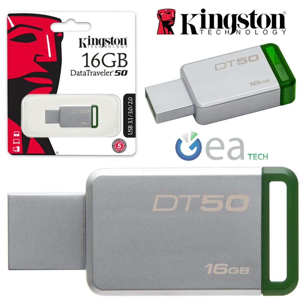 KINGSTON-Pendrive-DT50-16GB-32GB-64GB-USB-3-1-Chiavetta-ORIGINALE-Memory-Stick