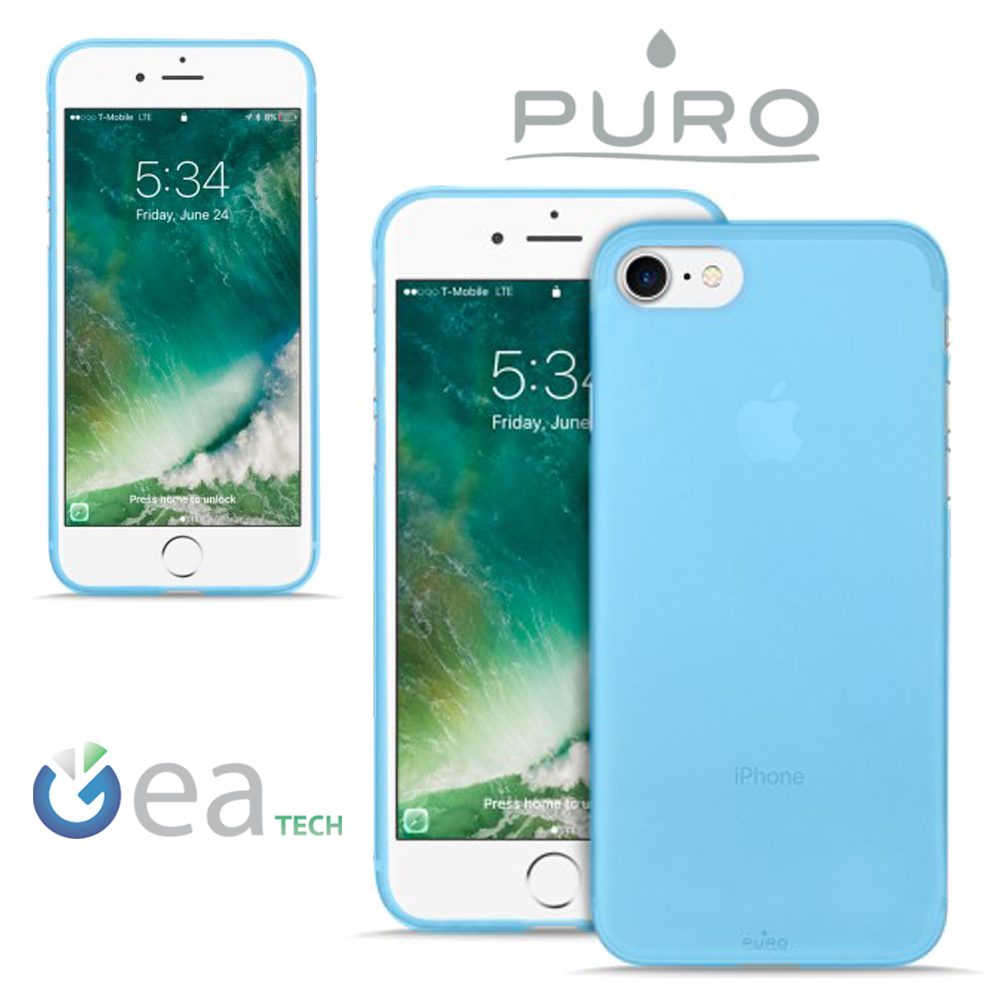 custodia iphone 7 verde fluo