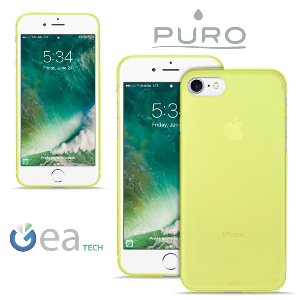 PURO-Custodia-Ultra-Slim-0-3-mm-Per-iPhone-7-8-Cover-Opaca-flessibile-sottile