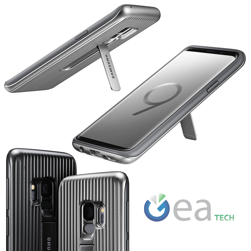 Caso-Original-Samsung-PROTECTOR-STANDING-Cubierta-Para-Galaxy-S9-SM-G960F-Case